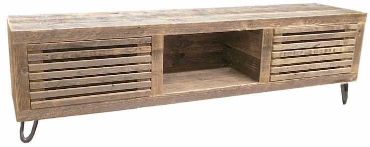 Reclaimed Wood Media Console - Free Shipping
