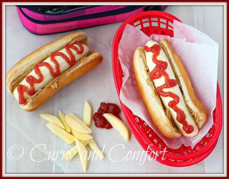 Kitchen Simmer: Peanut Butter And Jelly Banana Dog With Apple Fries