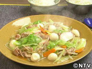 ちゃんぽん炒めのレシピ|キユーピー3分クッキング