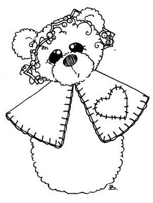 Free Printable Coloring Pages Teddy Bear : 97 best coloring pages: teddy bears images on pinterest