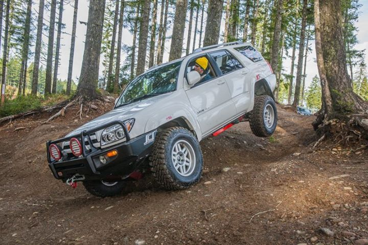 One of our main project trucks 2004 4th Gen 4Runner. We loving seeing how far we can push this family SUV. #4wdto #toyotatough #4runner #4th #2004 #project #forest #SCS #ARB #NitroGears #FrontRunner #BudBuilt #family