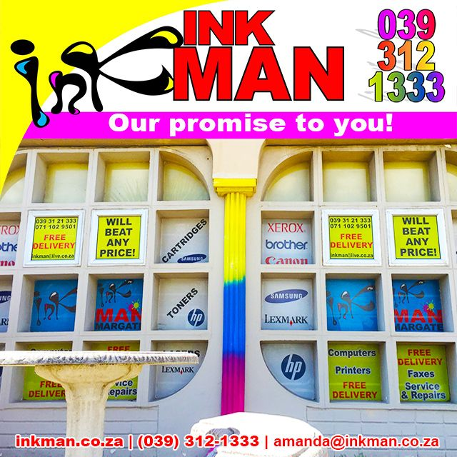 #FREE delivery & the most competitive prices around on all #printer products! #KZNSouthCoast #OfficeAutomation #Ink #Toner