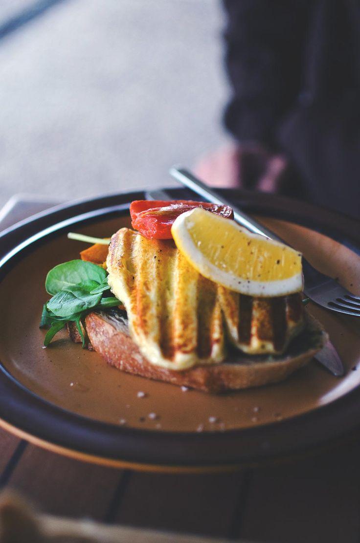 Grilled haloumi at Lady Marmalade Cafe, Brisbane | heneedsfood.com