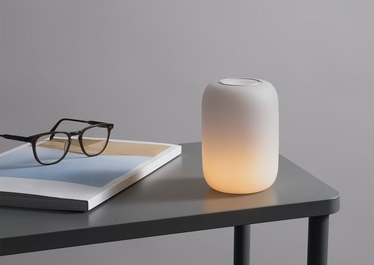 The Casper Glow — our magical light for better sleep. | Casper® How To Sleep Faster, How To Get Sleep, Good Night Sleep, When You Sleep, Sleep Well, Glow Lamp, Lamp Switch, Touch Lamp, Bedrooms