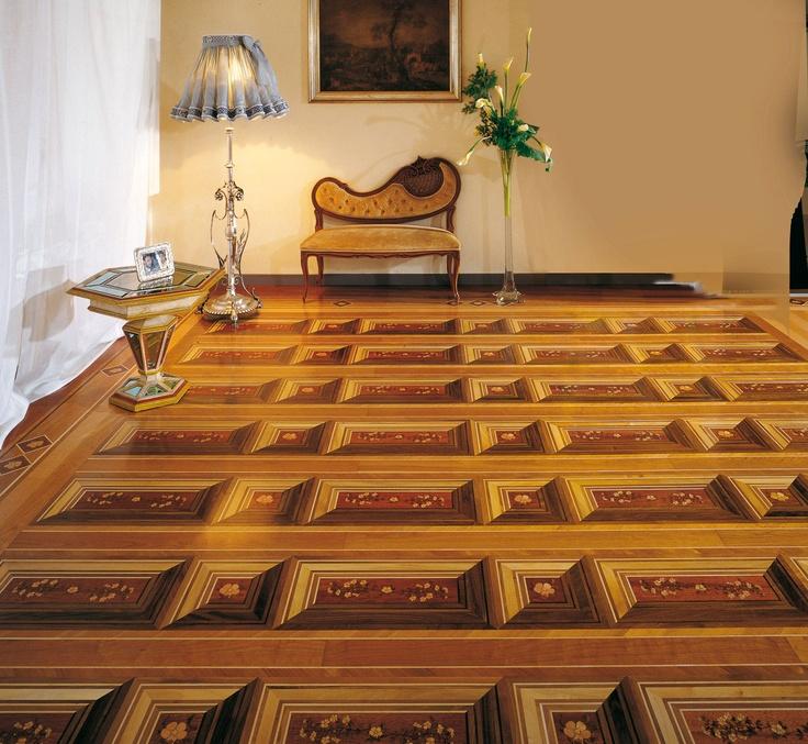 Berti wood flooring inlaid parquet parquet wood tile for Berti parquet