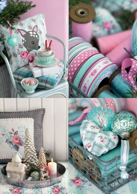 Heart Handmade UK: Greengate Christmas Decorations and Paper Tape from the Sandy Mint Winter 2012 Collection