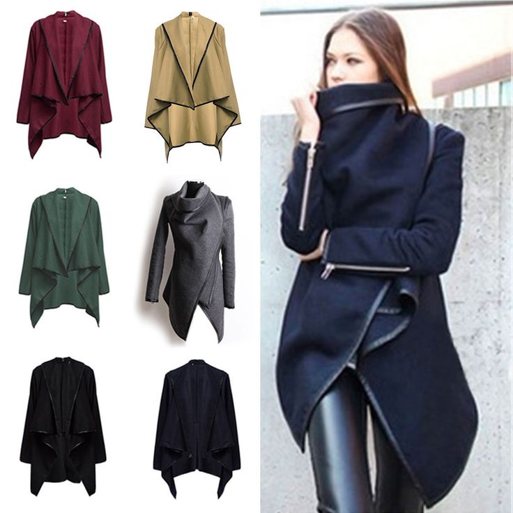 2017Women Trench Coat Warm Ladies Parka Overcoat Long Jacket Winter Outwear