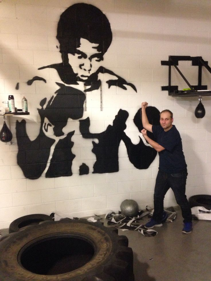 Mohamed Ali - Motivation and inspiration for people of all ages. Projet done at work January 4, 2014.