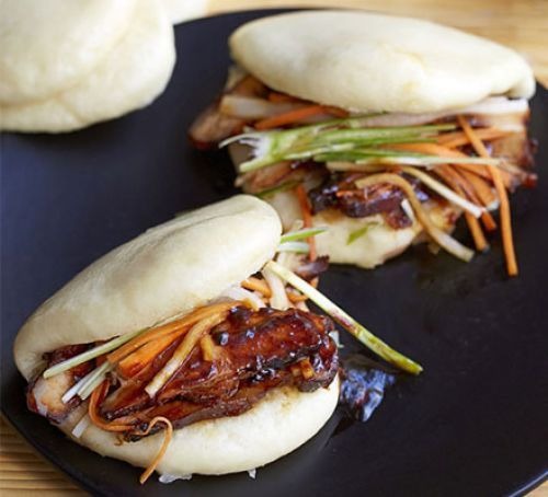 Steamed bao buns - tried this recipe for buns to go with sticky pork. Worked perfectly.
