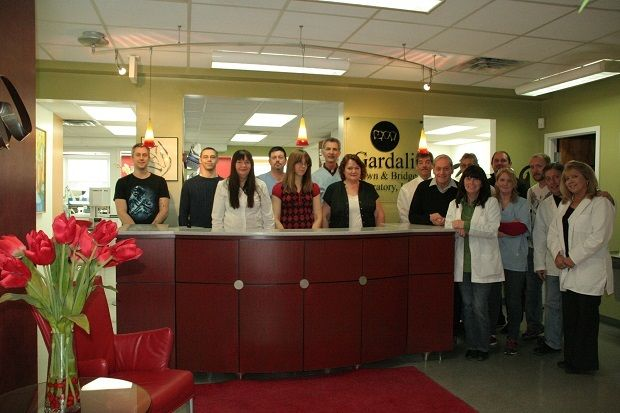 """Gardali Crown & Bridge: Im Still Excited to Go to Work-  Utica, NY Owner: Curt Gardali 17 employees """"I've been at this lab for eight years and am still excited to get up and go to work to try and make a difference in our patients' lives."""