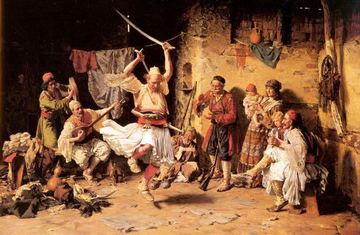 Joanovitch Paul (1859–1957) The Sword Dance, Private Collection - Paja Jovanović - Wikipedia, the free encyclopedia