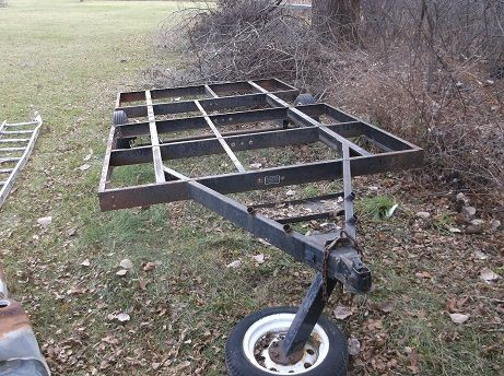 trailer frame in jers garage sale in mendon mi for 10000 this is