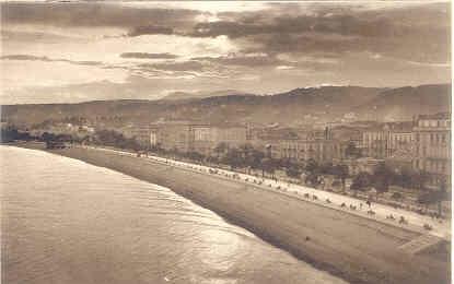 LL Postcard - Nice - La Promenade des Anglais (Effet de Nuit)