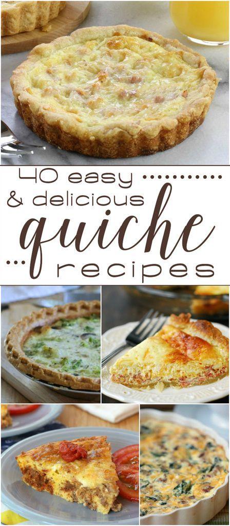 40 Easy & Delicious Quiche Recipes!