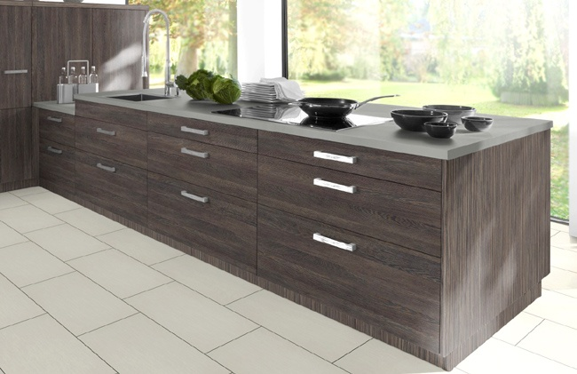 Mali Wenge Kitchen. www.kbstoretrade.co.uk