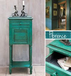 Florence Chalk Paint™ from Annie Sloan | New Color Available | Royal Design Studio http://www.royaldesignstudio.com/products/florence-annie-sloan-chalk-paint#