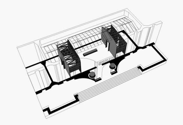 """arhitext: Bienala de Artă de la Veneţia: Attila Kim semnează designul expoziţiei Adrian Ghenie """"Darwin's Room"""" organizată în Pavilionul Naţional al României din Giardini di Castello"""
