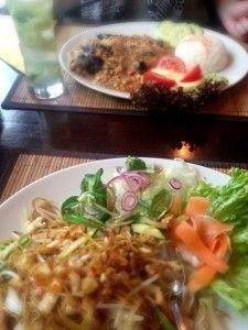 Asiatisch vegan-vegetarisch speisen in Berlin-Mitte im Samâdhi   Deutschland is(s)t vegan- kind of pricy..