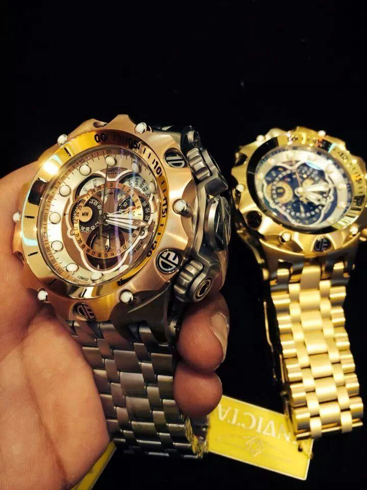Double Venom – Beautiful Invicta watches for men. – automatic watches for men, large mens watches, watch site *sponsored https://www.pinterest.com/…