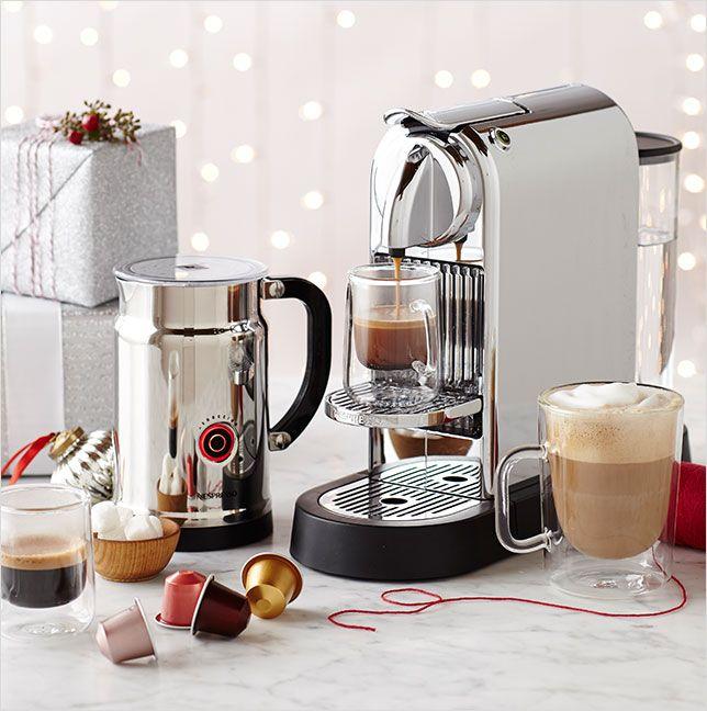 Coffee Espresso Latte Cafe Ivory Brown Kitchen Curtains: Nespresso Citiz Espresso Machine With Aeroccino 3 Milk Frother In 2019
