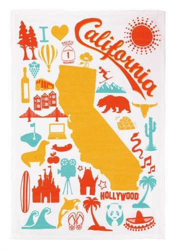 california+kitchen+towel+-+Add+a+little+charm+to+any+kitchen+with+the+California+Kitchen+Towel.++Made+of+100%+cotton.+bower+power