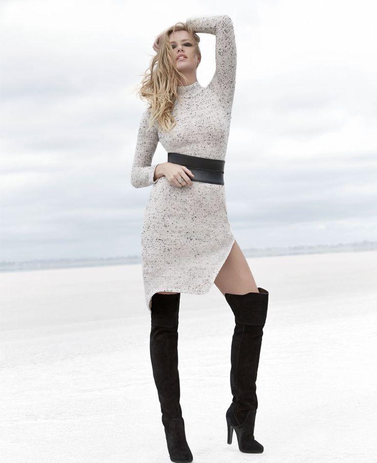 Norah Sweater Dress - Bardot