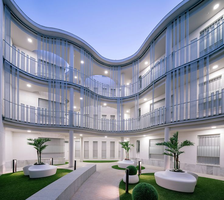 Perfekt Gallery   Building For 21 Houses / Roman Y Canivell   1