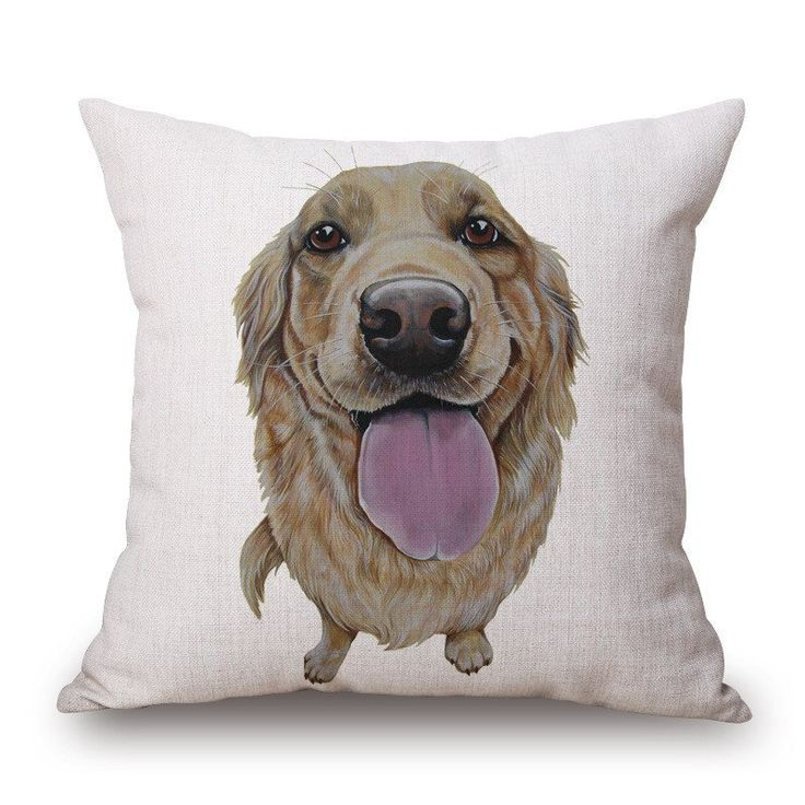 Cushion Cover - Golden Retriever – The General Pet Store