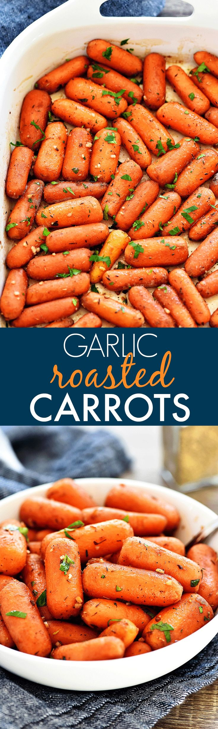 Been cooking in the kitchen for three weeks and were deeply in love - Garlic Roasted Carrots