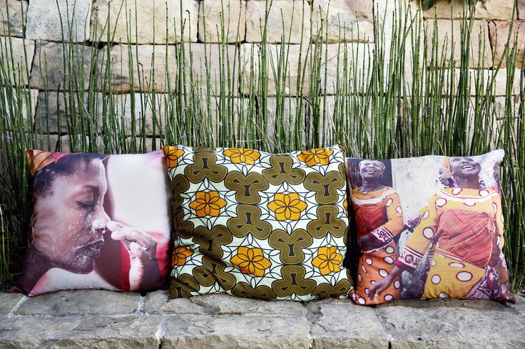 Women Celebrating. Gates of Heaven Cushions