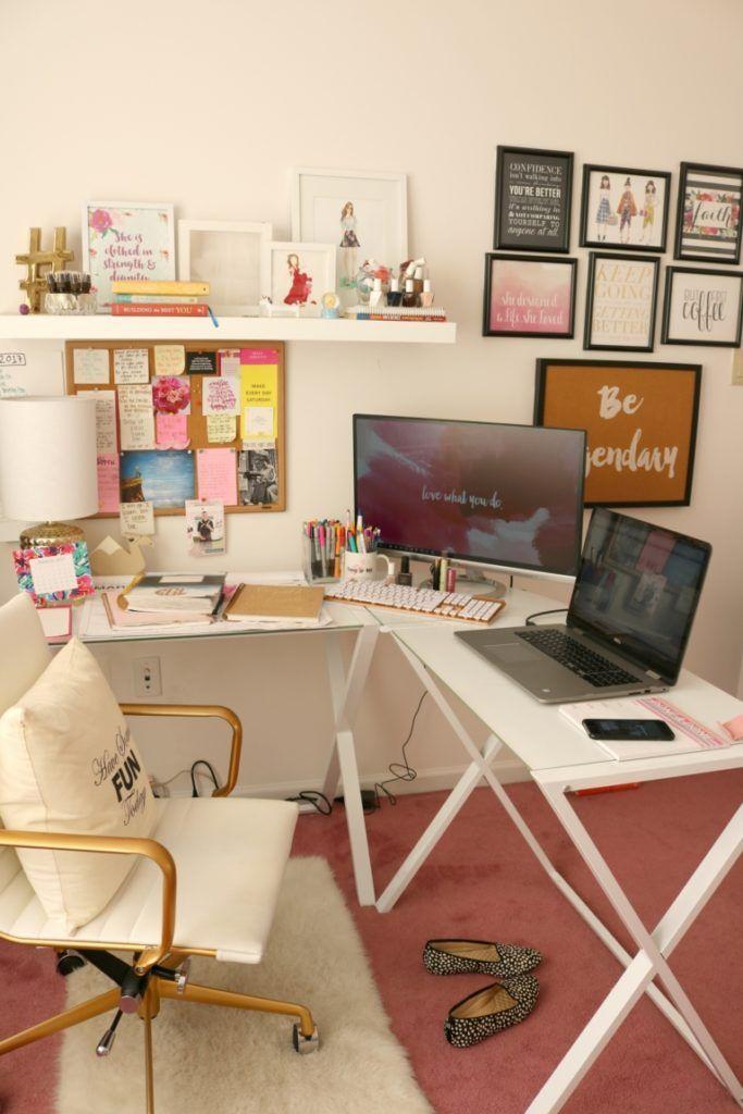Super 17 Best Ideas About Home Office Decor On Pinterest Desk Largest Home Design Picture Inspirations Pitcheantrous