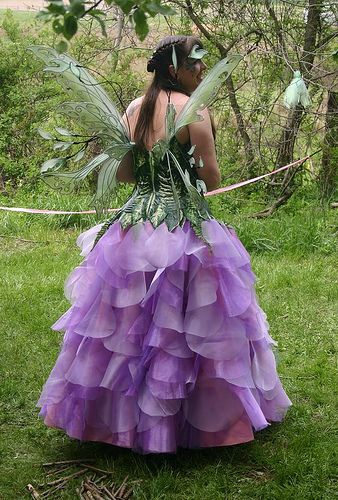 Queen of the May, Posie Fairy by On Gossamer Wings, via Flickr