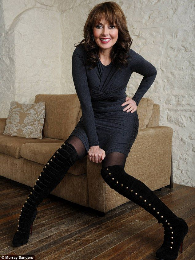 Looking fabulous at 50: Carol Vorderman shows why she refuses to fret about her body ~ The Celebrity