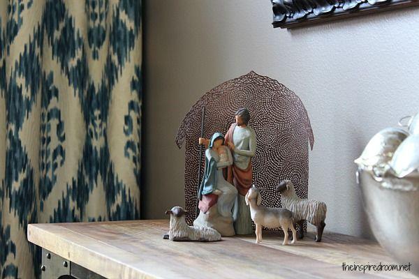 Nativity Scene {Willow Tree} via dayspring.com