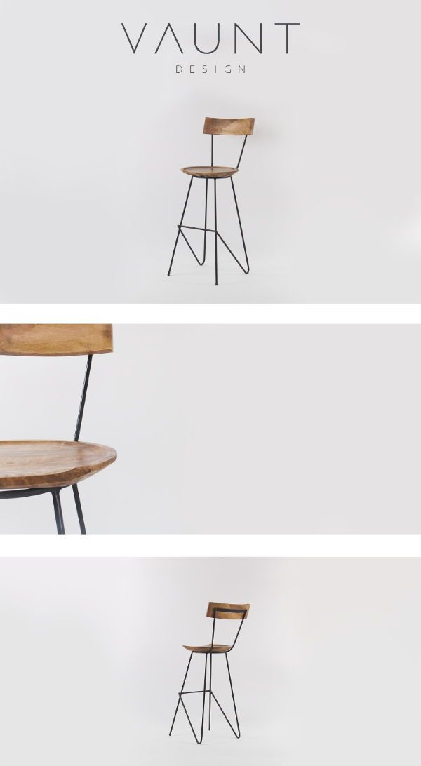 Stoker Bar Stool With Backrest In 2020 Metal Bar Stools Bar