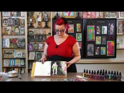 ▶ Creating a Patchwork Background with Dyan Reaveley - YouTube