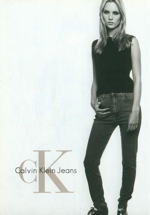 naornicampbell:  Kate Moss for Calvin Klein Jeans 1996,...