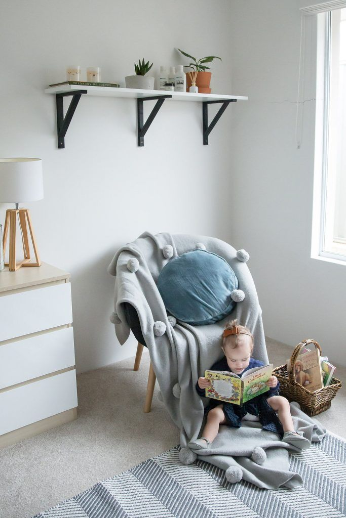 We decided to create what we see as the perfect toddler room. We added our needs and wants to inspire you all. I love seeing ideas take shape and then sitting back and watching our little ones enjoy their space.