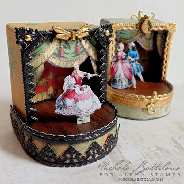Dollhouse Miniatures Jensen: 138 Best Images About Toy Theaters On Pinterest