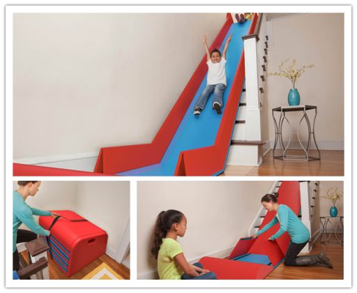 1000 Ideas About Stair Slide On Pinterest Stairs Twin