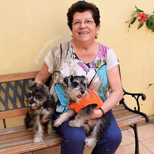 Abrigo o chompa tejida en dos agujas para perritos! Paso a paso en español :)