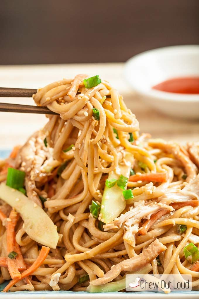 These Asian Cold Sesame Noodles are absolutely perfect for warm days. This dish tastes nutty, without any nuts. It's easy to make, healthy, and delicious!!
