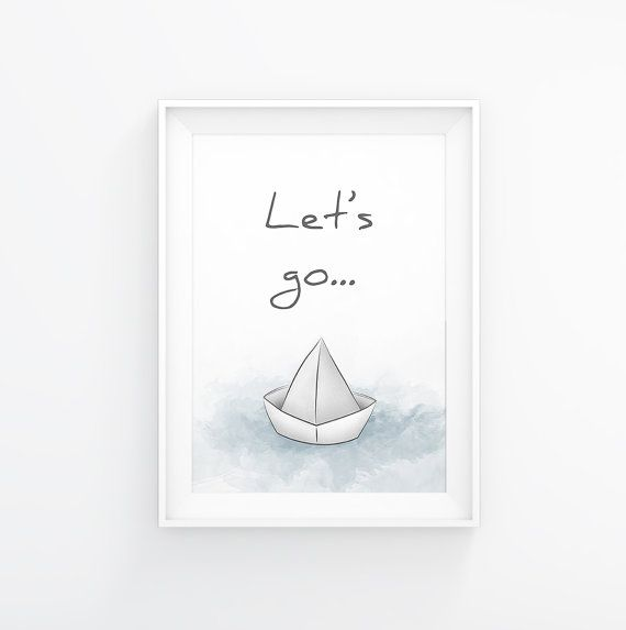 Paper boat,Quote Prints, Printable quotes, Wall Art Quotes, Wall Quotes,Quote prints, Wall Art Print, Home Decor wall art,INSTANT DOWNLOAD