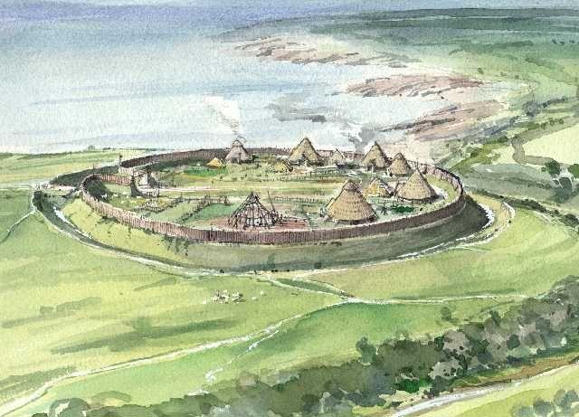 iron age settlements - Szukaj w Google                                                                                                                                                      More