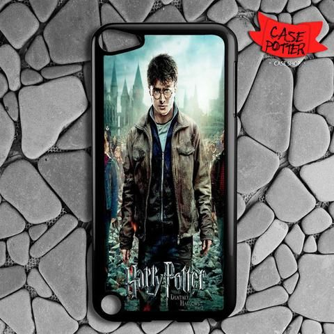 Harry Potter Deathly Hallows Part 2 Poster iPod 5 Black Case