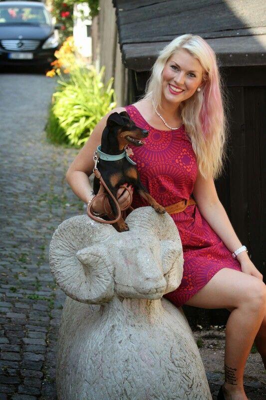 Tiny och jag på Gotland