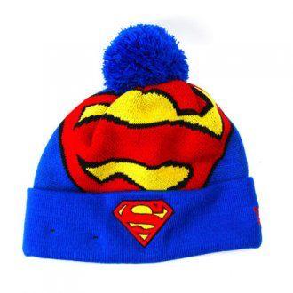 New Era Woven Biggie Superman Hat Blue