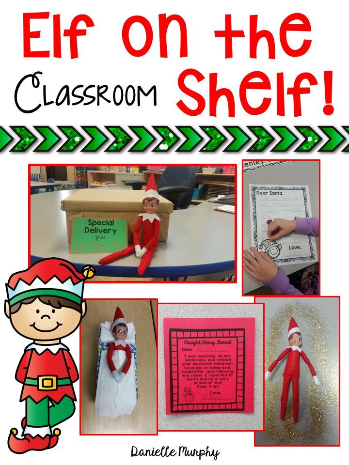Teachers!  Such fun classroom elf on the shelf activities and ideas!  Letters, journals,notes, delivery ideas, and more!  Perfect classroom management for December/Christmas!