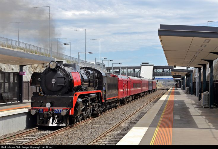 RailPictures.Net Photo: R707 707 Operations inc. R class at Wyndham Vale, Melbourne, Australia by Ian Green