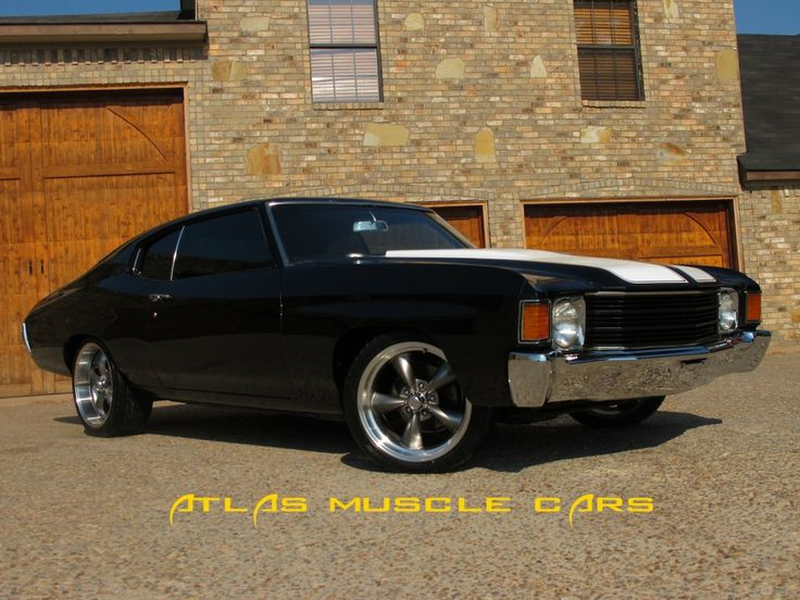 muscle car with torqure | muscle cars for sale 1972 Chevelle 350 auto 7293 - Atlas Muscle Cars